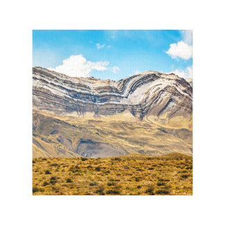 Snowy Andes Mountains Patagonia Argentina Canvas Print