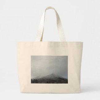 Snowy Arizona Mountain Jumbo Tote Bag