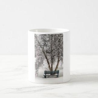 Snowy Bench Mug
