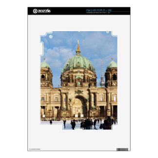 Snowy Berlin Cathedral 002 Skin For The iPad 2