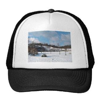 Snowy Blanket Hat
