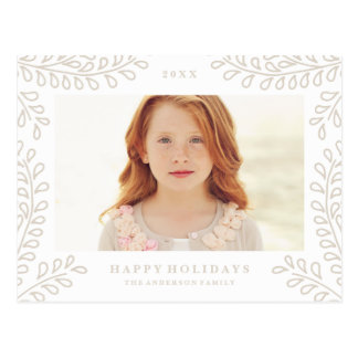 Snowy Branches Collection Postcard