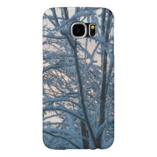 Snowy Branches Samsung Galaxy S6 Case