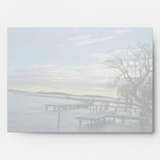 Snowy Bridge Envelope