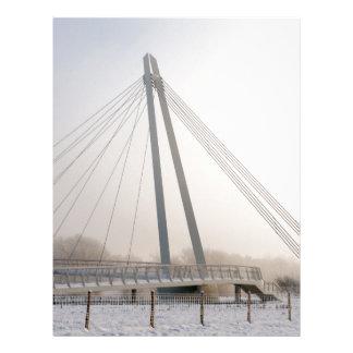 Snowy Bridge Letterhead
