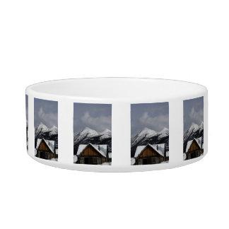 Snowy Cabin Bowl