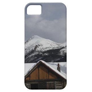 Snowy Cabin iPhone SE/5/5s Case