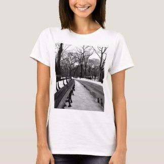 Snowy Central Park T-Shirt
