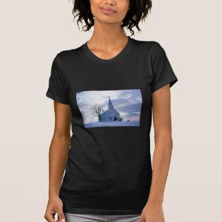 Snowy Chapel T-Shirt