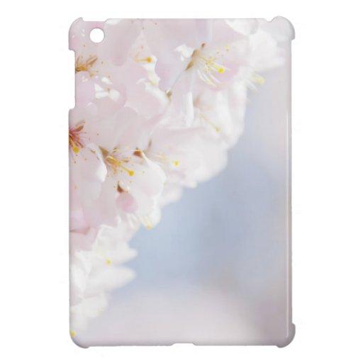 Snowy Cherry Blossoms iPad Mini Covers