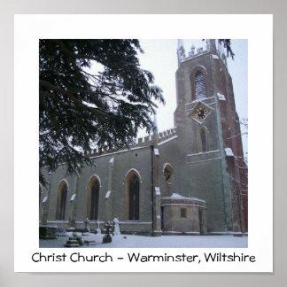 Snowy Christ Church III Poster
