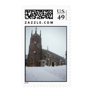 Snowy Christ Church IV Stamps