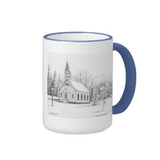 Snowy Christmas Mug