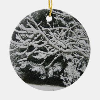 Snowy Christmas Ornament