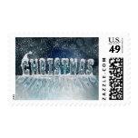 Snowy Christmas postage Postage