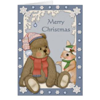 Snowy Christmas - Verse Inside Card