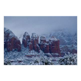 Snowy Coffee Pot Rock 2736 Print