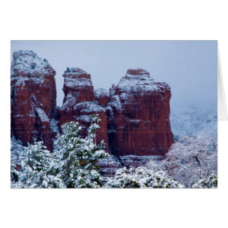 Snowy Coffee Pot Rock Card 2743
