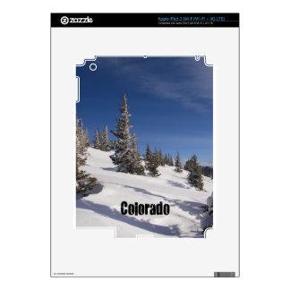 Snowy Colorado Rocky Mountains iPad 3 Skins