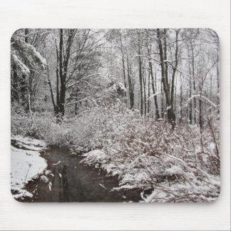 Snowy Creek Mouse Pad