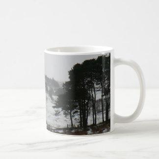 Snowy Cumbrian Winter Scene Classic White Coffee Mug