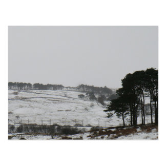 Snowy Cumbrian Winter Scene Postcard