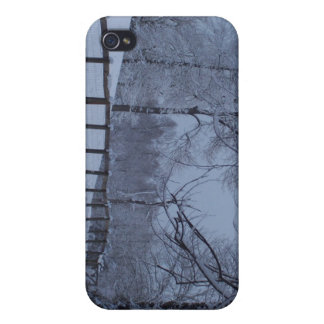 Snowy Day Covers For iPhone 4