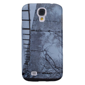 Snowy Day Galaxy S4 Cases
