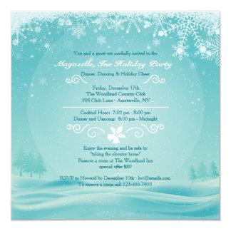 Snowy Day Holiday Party Invitation