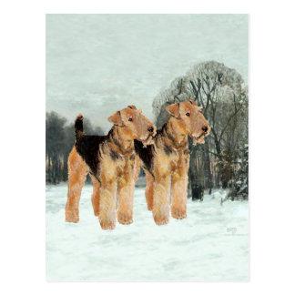 Snowy Day Postcards