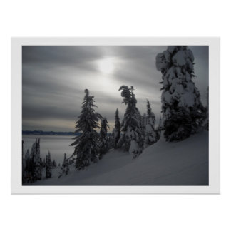 Snowy Days Posters