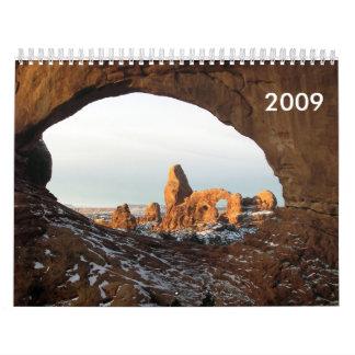 Snowy Deserts Calendar