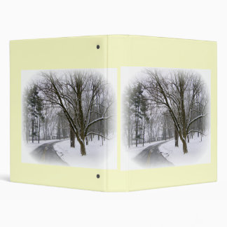 Snowy Driving Conditions Binder