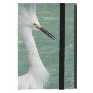 Snowy Egret Cases For iPad Mini