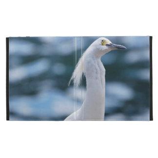 Snowy Egret iPad Cases