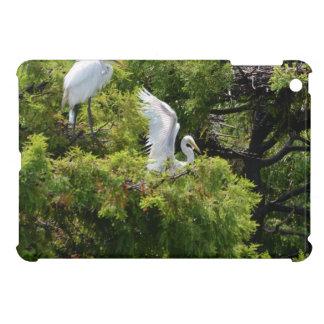 Snowy Egret iPad Mini Cover
