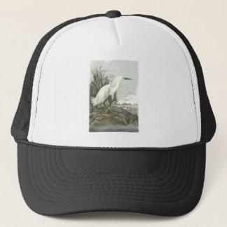 Snowy Egret, John Audubon Trucker Hat