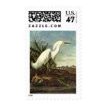 Snowy Egret, John James Audubon Postage