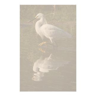 Snowy Egret Photography Stationery