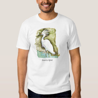 Snowy Egret shirt