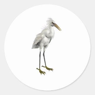 Snowy Egret Stickers