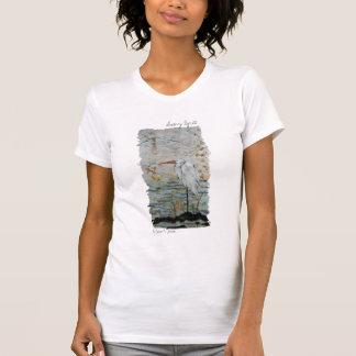 Snowy Egret Tee Shirt