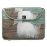 """Snowy Egrets 15"""" MacBook Sleeve MacBook Pro Sleeves"""