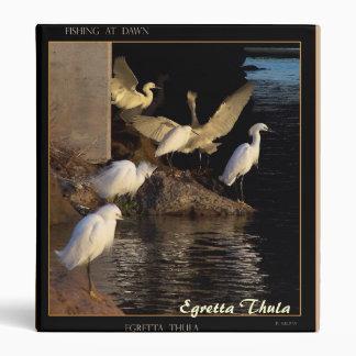 Snowy Egrets at Dawn Avery Binder