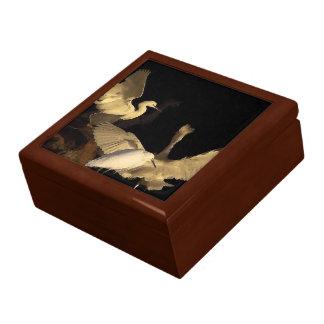 Snowy Egrets at Dawn Gift Box