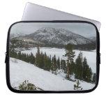 Snowy Ellery Lake California Winter Photography Computer Sleeve