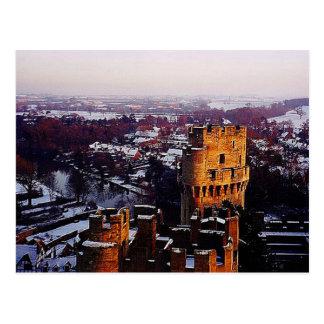 Snowy England Postcard