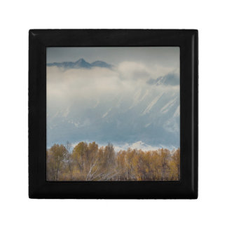 Snowy Flatiron View Boulder Colorado Gift Boxes