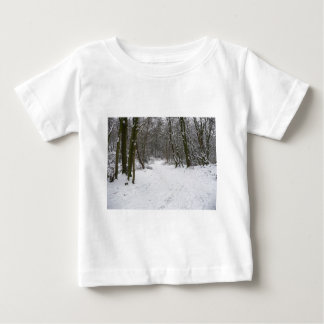 Snowy forest baby T-Shirt