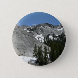 Snowy Granite Domes I at Yosemite National Park Button